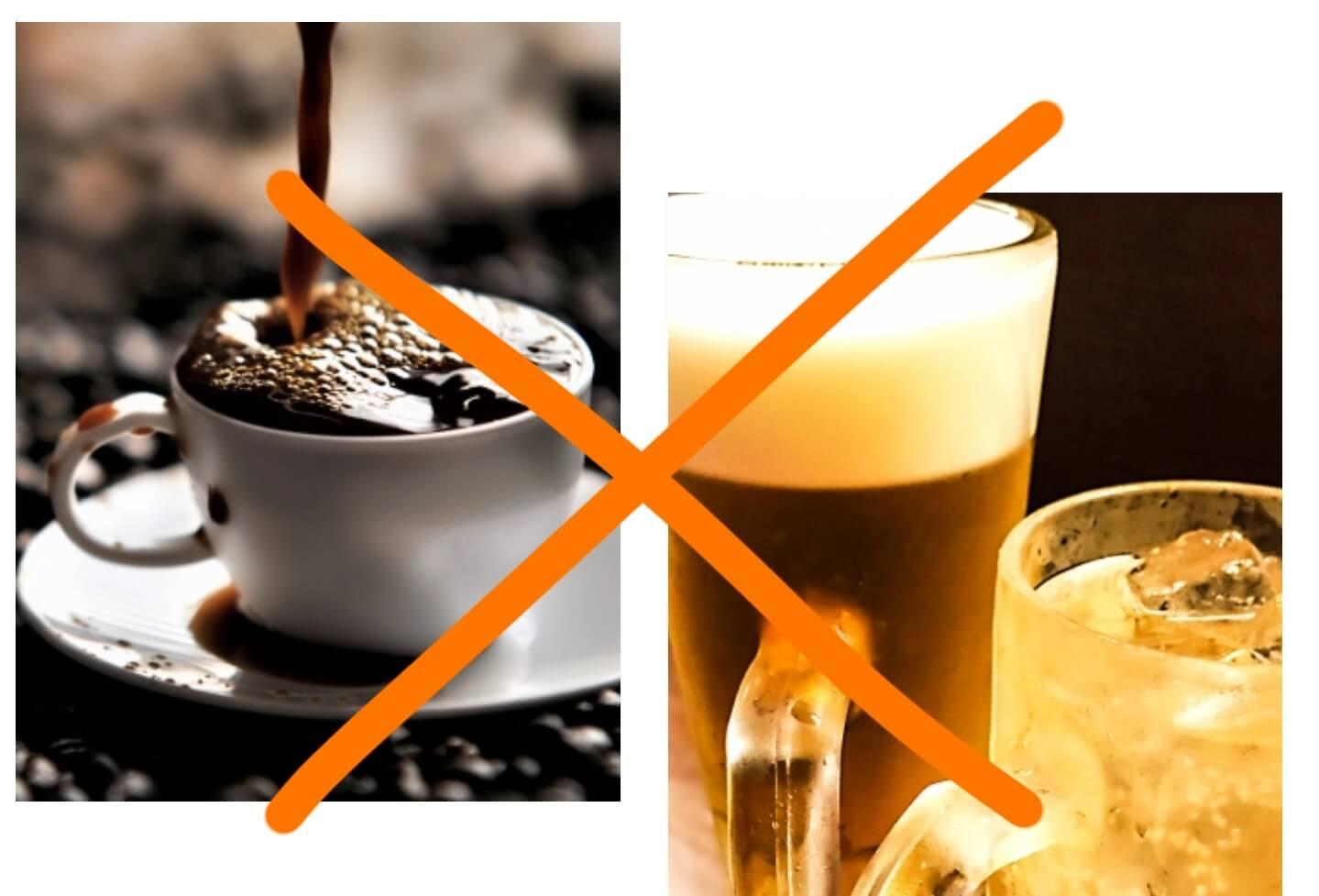 アルコール コーヒー NG